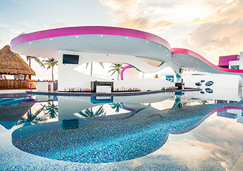 The Tower By Temptation Cancun 21 Plus pool