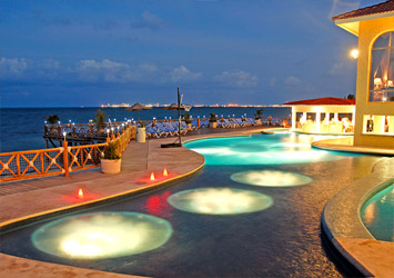 All Ritmo Cancun Resort And Waterpark pools