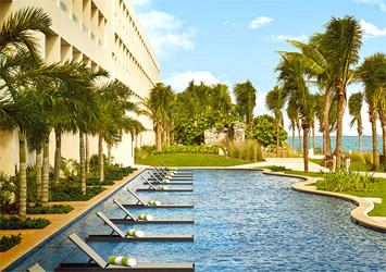 Hyatt Ziva Cancun Mexico pool