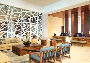 Hyatt Ziva Cancun Mexico lobby