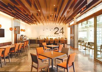 Hyatt Ziva Cancun Mexico cafe
