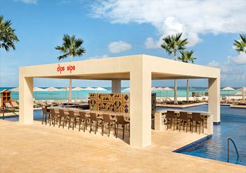 Hyatt Ziva Cancun Mexico pool bar
