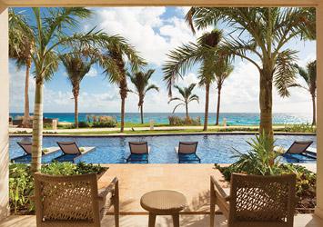 Hyatt Ziva Cancun Mexico pool view
