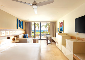 Hyatt Ziva Cancun Mexico bedroom