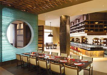 Hyatt Ziva Cancun Mexico dining