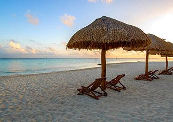 Oasis Palm Cancun, Mexico beach sunset