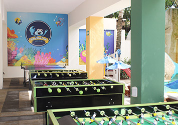Oasis Palm Cancun, Mexico game room