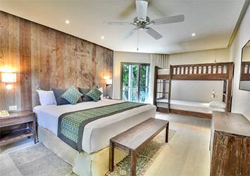 Sandos Caracol Eco Resort Riviera Maya, Mexico bedroom