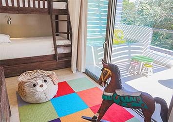 Sandos Caracol Eco Resort Riviera Maya, Mexico kids room