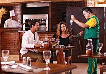 Sandos Playacar Riviera Maya, Mexico bar