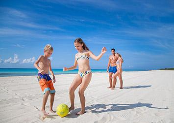 Sandos Playacar Riviera Maya, Mexico family beach