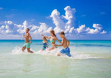 Sandos Playacar Riviera Maya, Mexico ocean