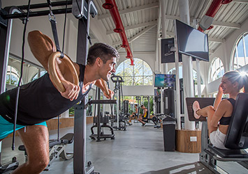 Sandos Playacar Riviera Maya, Mexico gym
