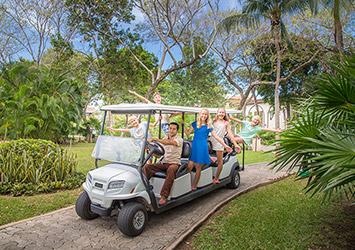 Sandos Playacar Riviera Maya, Mexico golfing