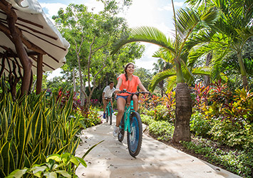 Sandos Playacar Riviera Maya, Mexico biking