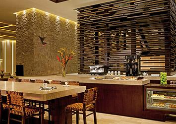 Secrets The Vine Cancun, Mexico cafe coffee shop