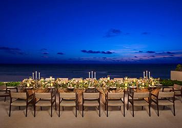 Secrets The Vine Cancun, Mexico wedding