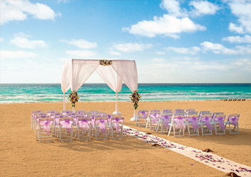 Hyatt Zilara Cancun Cancun, Mexico beach wedding