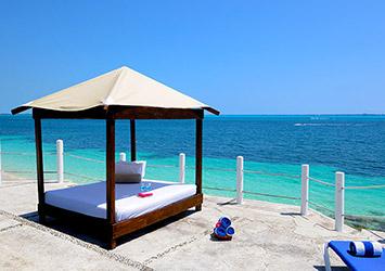 Dos Playas Beach House By Faranda Cancun, Mexico beach hut