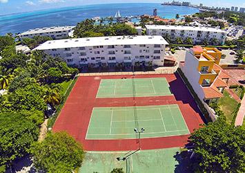 Dos Playas Beach House By Faranda Cancun, Mexico tennis courts