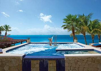 Zoetry Villa Rolandi Isla Mujeres Cancun, Mexico jacuzzi