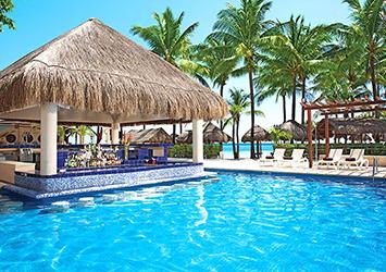 Dreams Puerto Aventuras Resort And Spa Riviera Maya, Mexico swim up bar