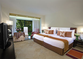 Sunscape Akumal Beach Resort And Spa Riviera Maya, Mexico double beds