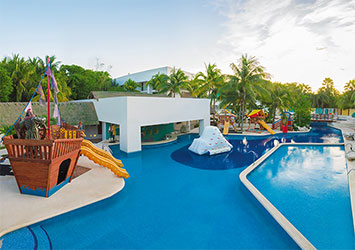 Sunscape Akumal Beach Resort And Spa Riviera Maya, Mexico kids pool
